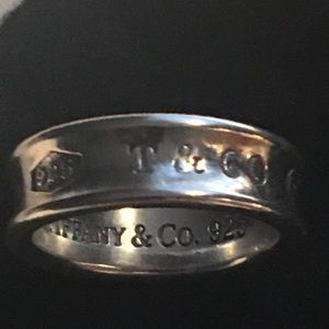 "Authentic Tiffany& Co  ""I Love You"" Ring"